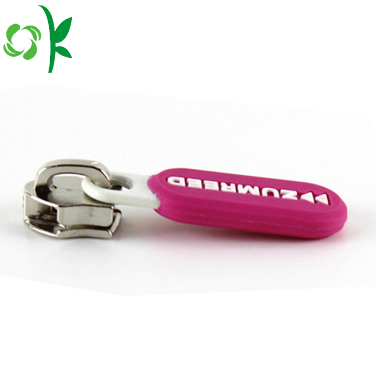New Products Zipper Puller Silicon