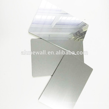 Sliver mirror feature wall panel aluminum composite panels