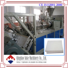 Extrusion de feuille de PVC faisant la machine (SJSZ65X132)