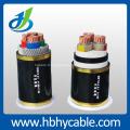 Câble à haute tension isolé XLPE, câble d'alimentation