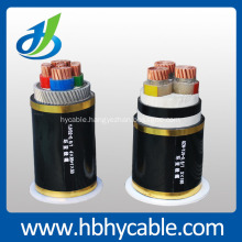 Hv 26/35kv Copper Conductor XLPE Insulated Steel Wire Armored Power Cable