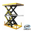 1T Double Scissor high lift Mesa estacionaria