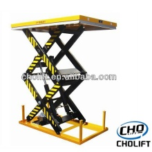 1T Double Scissor high lift Stationary table