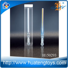 2014 Оптовый пластиковый светодиодный проблесковый меч, проблесковый световой меч H150293