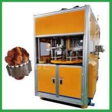 Full Auto induction motor stator coil winder and insertion machine