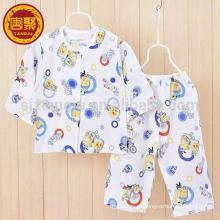 Tecido de malha de algodão 100% para uso do bebê