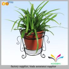 Outdoor-Platzierung kleine Pflanze Eisen Metall Blumentopf stehen