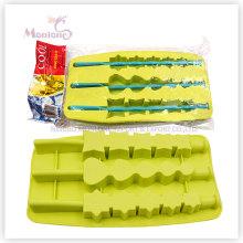 Moule à glace en forme de glaçons sur mesure, plateau de glaçons en silicone