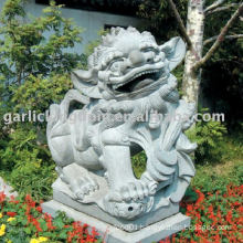 Lovely Lion Stone Carving