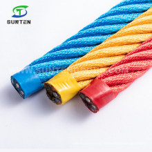 EU Standard Children Outdoor Playground PP/PE/Polypropylene/Polyester/Polyamide/Nylon/Plastic/Climbing/Twisted Combination Compound Steel Wire Rope