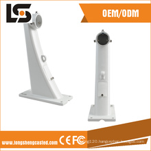 OEM Aluminum Die Casting Pole Wall Mounted CCTV Camera Bracket