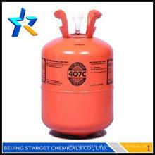 HFC gases R407C refrigerante R407c 99,9% r407 gás para arrefecimento Y