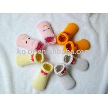 Baby-Baumwoll-Socken / Baby-Baumwoll-Schuhe