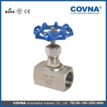Alta calidad SS alta presión Válvula de aguja / gas oil air Válvula de aguja con precio