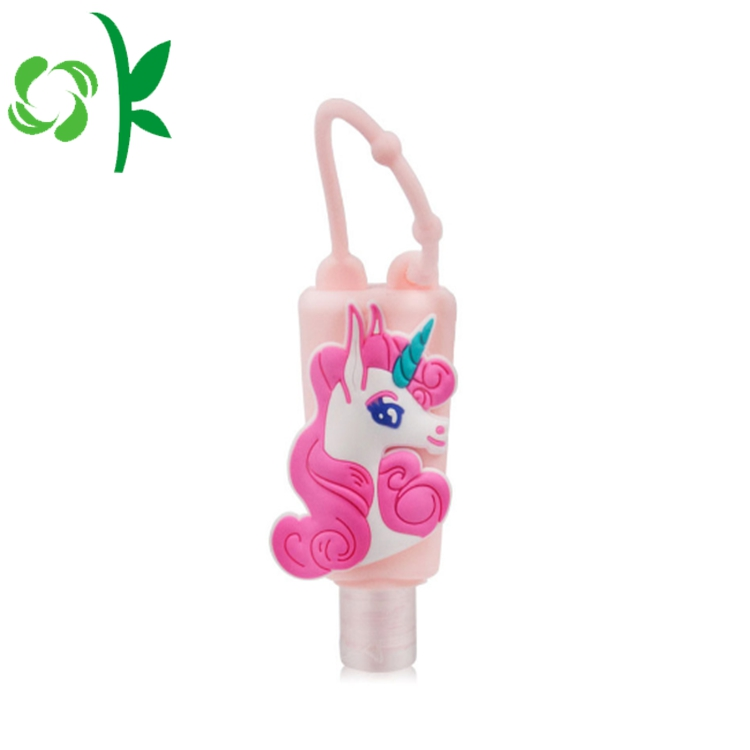 Sanitizer With Silicone Holder