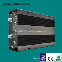 27dBm Repetidor de la señal del aumentador de presión del teléfono móvil de Lte700 + GSM850 + PCS1900 + Aws1700 (GW-27L7CPA)