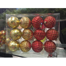 Christmas Decoration Ornaments in Different Shapes and Sizes with Packing (new material)