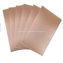 Plaque composite aluminium 1050 Polymétal avec titane