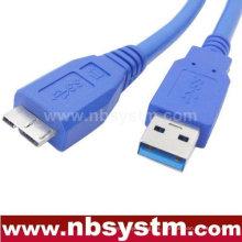 Cable USB 3.0 Un macho a micro B macho