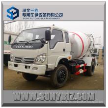 3cbm 4cbm 5 Cubic 4X2 Forland Camião betoneira pequeno
