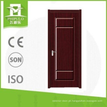 China fornecedores pvc única porta de madeira para casas de decoração