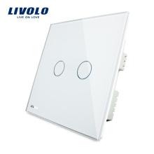 Livolo Домашняя автоматизация 12V / 24V постоянного тока 2 банды Сенсорный выключатель VL-C302C-61
