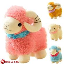 Kundengebundener Soem-Entwurf! Gefüllte Schafe weichen Spielzeug Plüsch ram