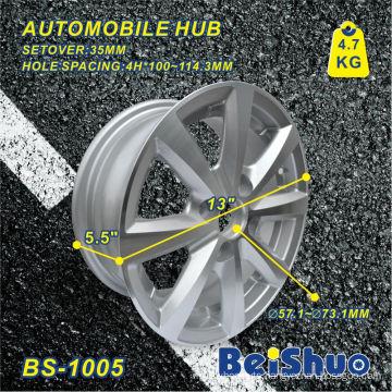 Aluminium Wheel Hub Rim with Die Casting