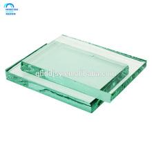 Esquina redonda y agujeros del panel de seguridad moderado calor claro endurecido claro de alta calidad de 10m m
