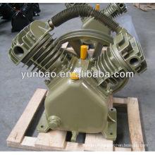 piston compresseur d'air culasse V Type compresseur d'air entraîné par courroie pompe à air