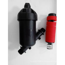 Filtro de disco Y tipo 120mesh filtro plástico médio para irrigação