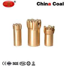 Carbon Steel Thread Tapered Mining Rock Drill Button Bit