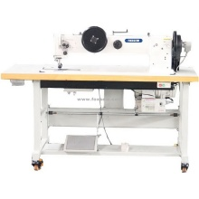 Long Arm Double Needle Heavy Duty Sewing Machine