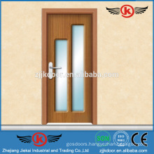 JK-P9220 pvc glass front kitchen cabinet doors