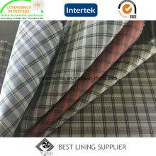 Плед рисунком Men′s костюм куртка лайнера подкладка ткани Китай поставщиком