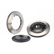 285*24mm brake rotor J hook style for Honda Acura Benz