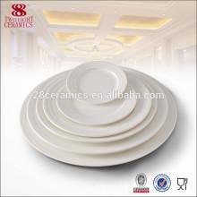 Made in China vaisselier vaisselle plat blanc en gros assiettes