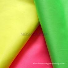 Fluorescent Dye Linen Fabric