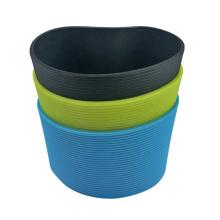 Manchon en caoutchouc de silicone de tasse en céramique sur mesure