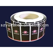 Adesivos de tubo personalizado