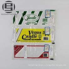 Напечатанные плоские поли packingbag для розничной торговли