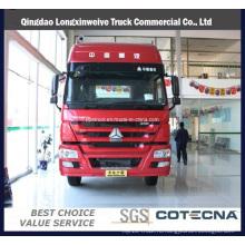 Контейнер с HOWO 6х4 транспорта грузовик с прицепом