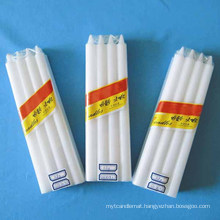 Daily Use Paraffin Wax White Candle