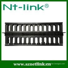 19 polegadas 2U plástico cabo de rede gerente