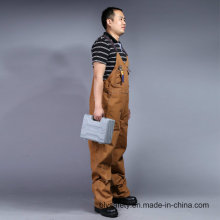 Mens Builders Work Dungarees Trousers Heavy Twill Bib and Brace Overall (BLY4002)