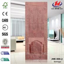 JHK-008-2 Nice Design FSC Moule Grossiste Hot Sale Intérieur Rosewood Materail Door Sheet