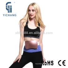 fashion cordless rechargeable electric slim belt for women waist fat burning reducing vibro shape slimming belt