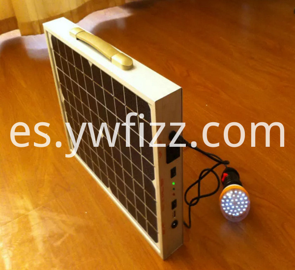 220V Portable Solar Power Box