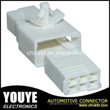 6p männlicher elektrischer Automobilplastikkabel-Verbindungsstück für Toyota-Auto