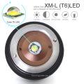Linterna LED táctica militar con cargador de batería recargable X800